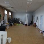 Pomieszczenia biurowe - korytarz